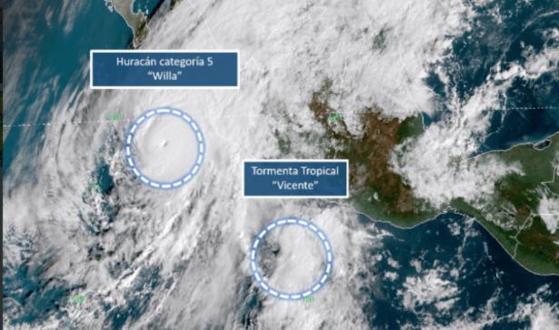 Toma tus medidas de precaución ante el huracán Willa