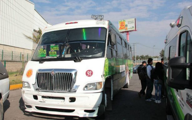 Aprueba Instituto Estatal del Transporte aumento a las tarifas en Edomex