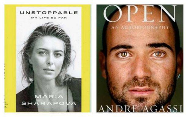 André Agassi y Maria Sharapova, dos memorias de tenistas