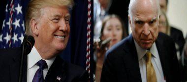 """""""Señor Presidente, deje de atacar a la prensa"""", McCain insta a Trump"""