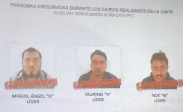 """Caen 12 de la banda """"Los Cuijes"""" en Puebla"""