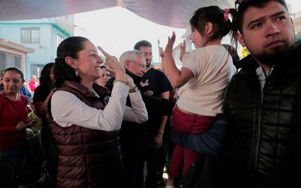 Claudia Sheinbaum ofrece rescatar el proyecto de AMLO