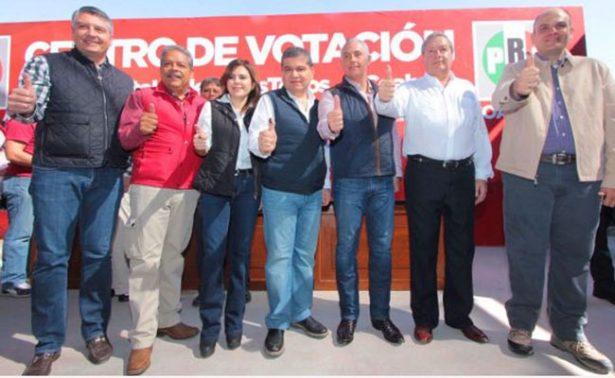 Miguel Ángel Riquelme Solís, candidato del PRI a la guberatura de Coahuila