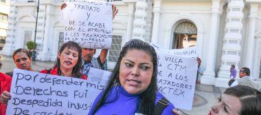 La CDMX se deslinda de trabajadoras despedidas