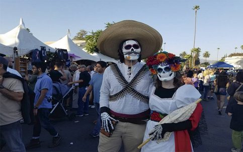 Celebración del Día de Muertos se consolida en California