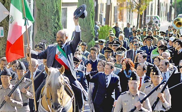 Celebran 104 aniversario de la Marcha de la Lealtad