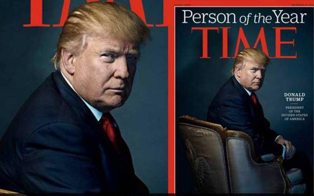 Según Trump, iba a ser nombrado persona del año pero lo rechazó
