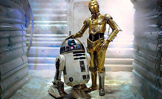 Los droides de Star Wars protagonizan versión de la serie Friends