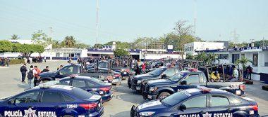 Continúa paro de policías en Tabasco