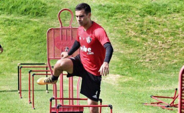 Rafa Márquez se ausenta del entrenamiento con Atlas
