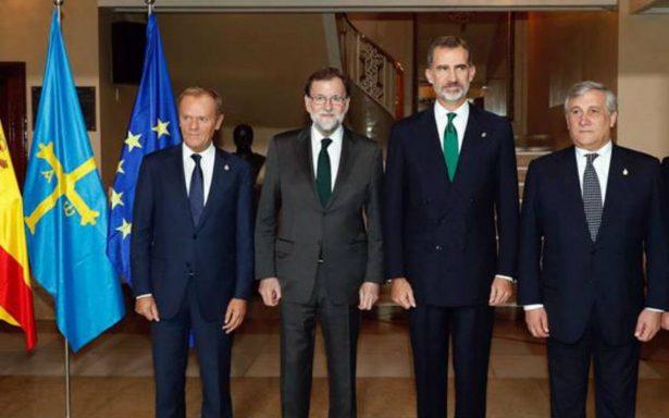 España resolverá intento de secesión catalán mediante sus instituciones: Felipe VI