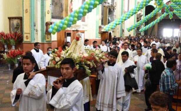 Sin pirotecnia, celebran un aniversario más del Niño Jesús