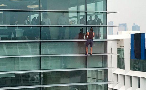 [Video] Arrestan a #SpidermanPolanco, podría pagar multa