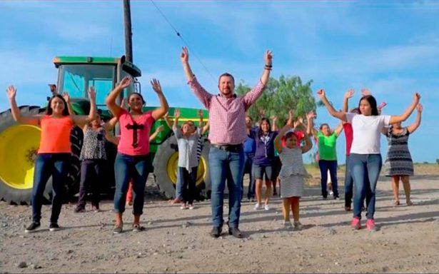"""[Video] """"Sobreviviré"""", dice cantando y bailando alcalde en Tamaulipas"""