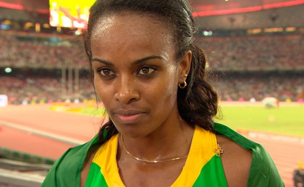 Genzebe Dibaba consiguió marca mundial en 2.000 metros