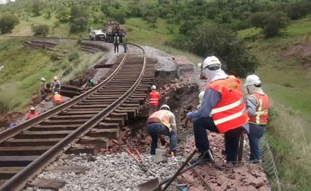 Suspenden trayecto ferroviario en Chihuahua