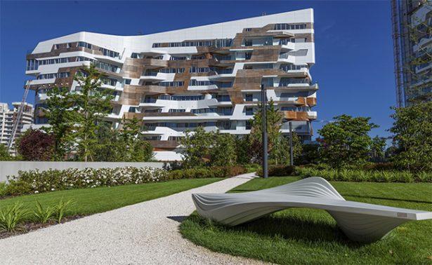 Homenaje en Roma a la arquitecta Zaha Hadid