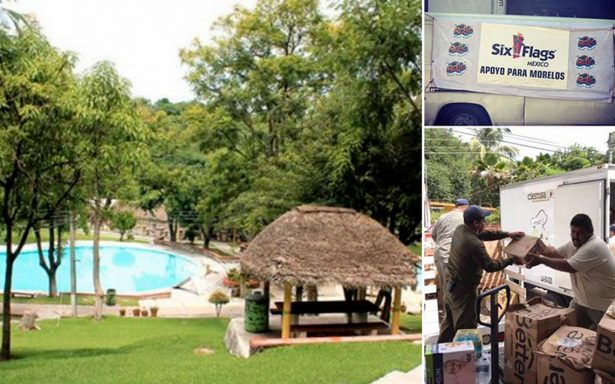 Irrecuperables 4 balnearios en Morelos tras sismo; Six Flags Oaxtepec se mantendrá cerrado