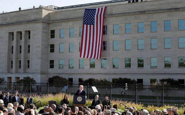 """Serán derrotados los """"salvajes asesinos"""" que ataquen a EU, advierte Trump"""