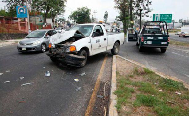 Persecución y balacera en Xalapa; deja 5 heridos