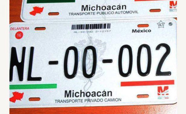 Recomienda Finanzas de Michoacán no emplacar en otros Estados