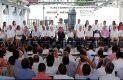 Peña Nieto entrega obras para abasto de agua y carretera en Guerrero