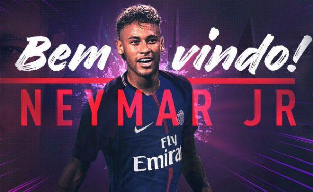 """Neymar firma su contrato de 5 años con PSG; portará el """"10"""""""