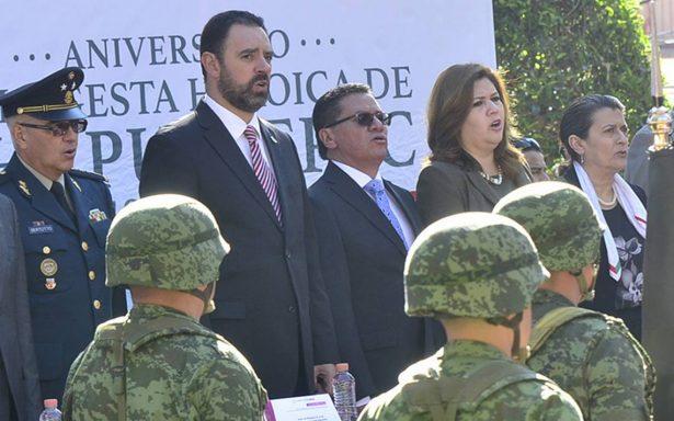 Insistirán en que llegue la Marina a Zacatecas