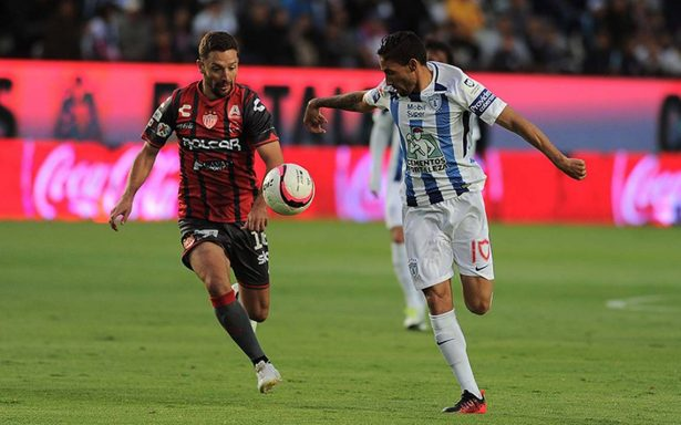Pachuca y Necaxa empatan a cero goles