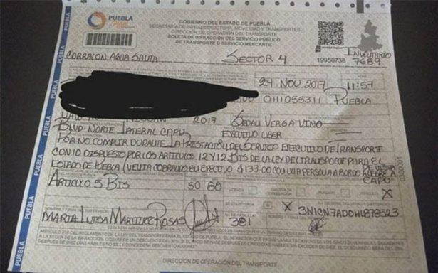 Por cobrar en efectivo quitan auto a conductor de Uber