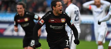 Bundesliga: Leverkusen con Chicharito vence al Hertha Berlín