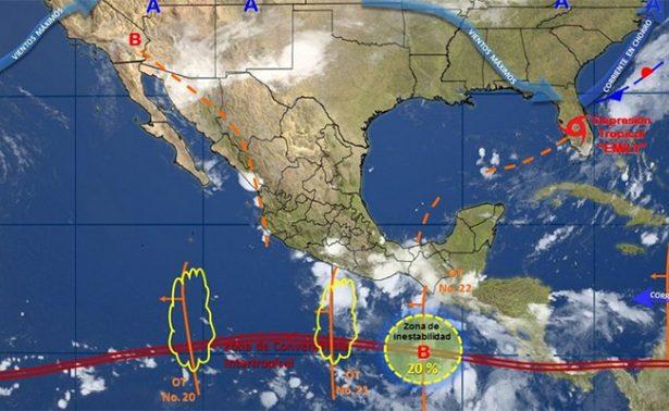 Tormenta tropical Irwin continúa alejándose de costas mexicanas