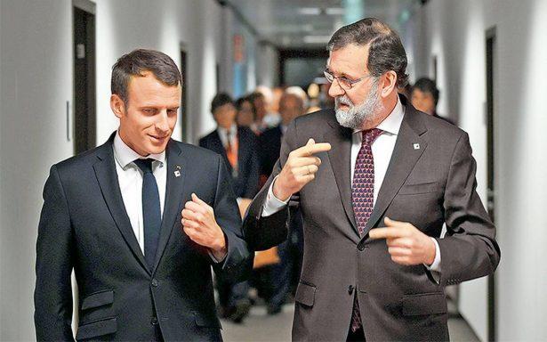 UE respalda incondicionalmente al gobierno de Mariano Rajoy