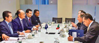 Se reune el secretario de Hacienda José Antonio Meade con los titulares del FMI, BM y BID