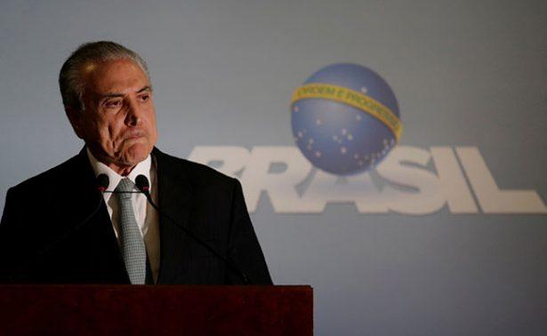 Empresario brasileño confiesa sobornos a Temer desde 2010