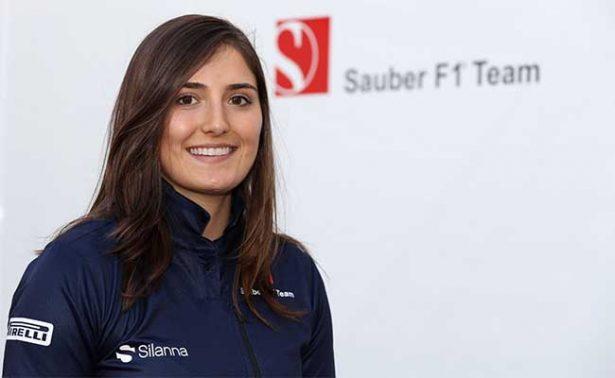 Escudería Sauber de la Fórmula Uno ficha a una mujer piloto