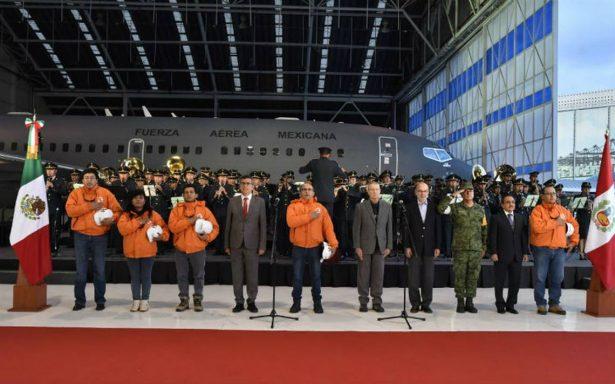 México agradece a delegaciones alemana y peruana que apoyaron tras sismo