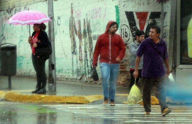 Frente frío 28 ocasionará lluvias en la mayor parte del país