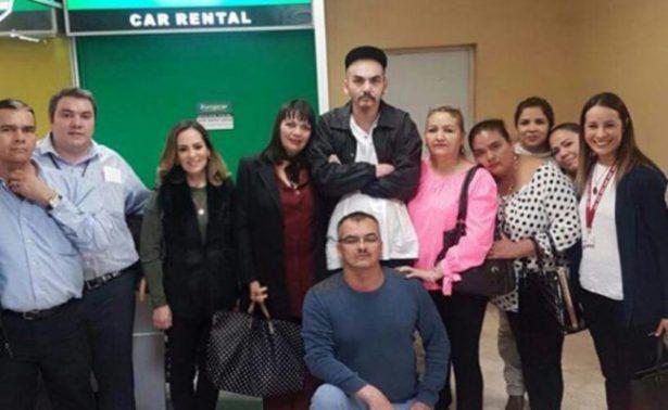 Migrante se reúne con su familia después de 24 años