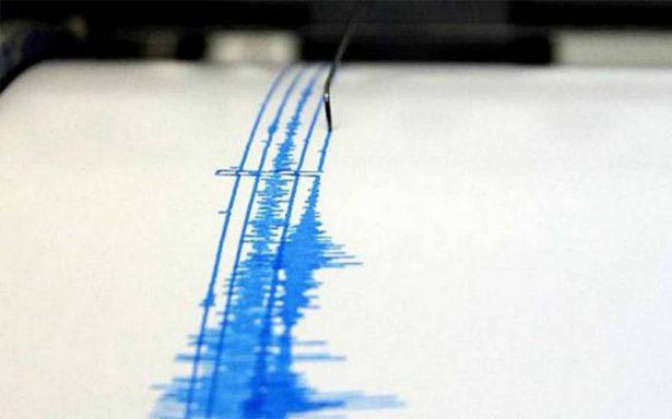 Reportan sismo de magnitud 4.8 en Guerrero