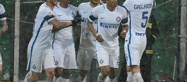 El Inter alcanza la zona europea tras vencer al Palermo