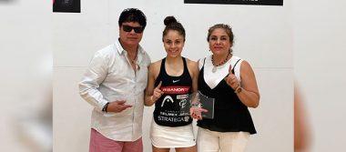 """Paola Longoria se proclama campeona en """"La Batalla del Álamo"""""""