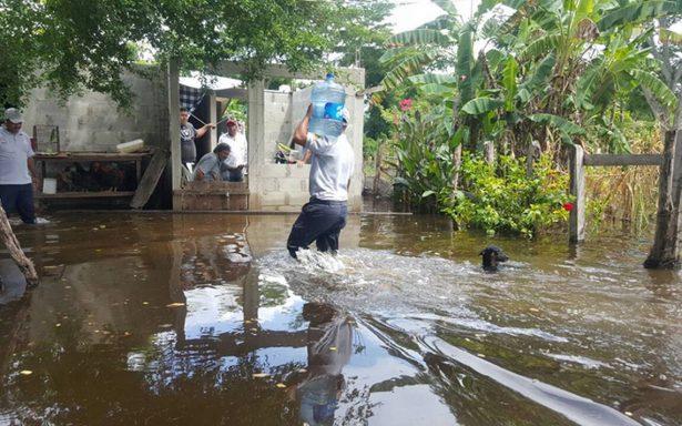 Caos por desborde del Usumacinta