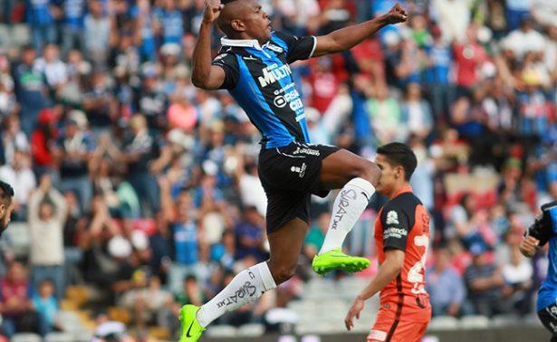 Queretaro sorprende al Pachuca  y le gana 3-0