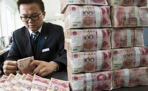 La vertiginosa caída de las reservas de divisas en China