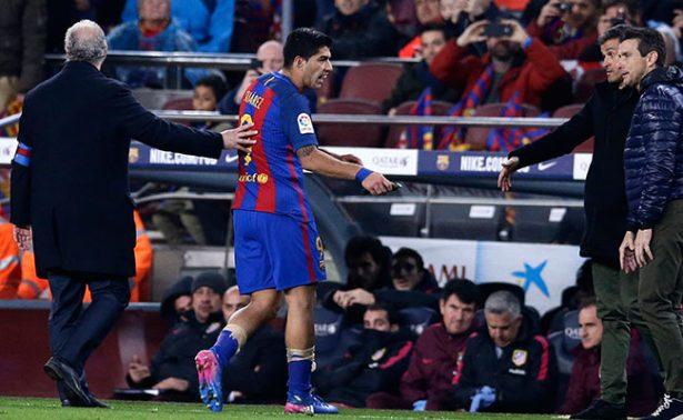 ¡Luis Suárez se perderá la final de la Copa del Rey!