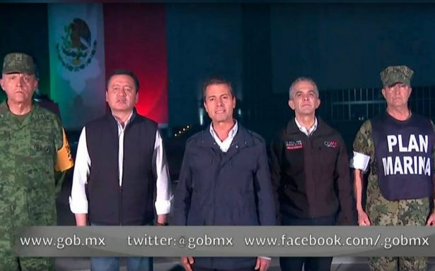 Sigamos unidos enfrentando juntos este nuevo desafío: EPN a mexicanos