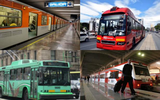 Transporte público en el Valle de México mantendrá gratuidad