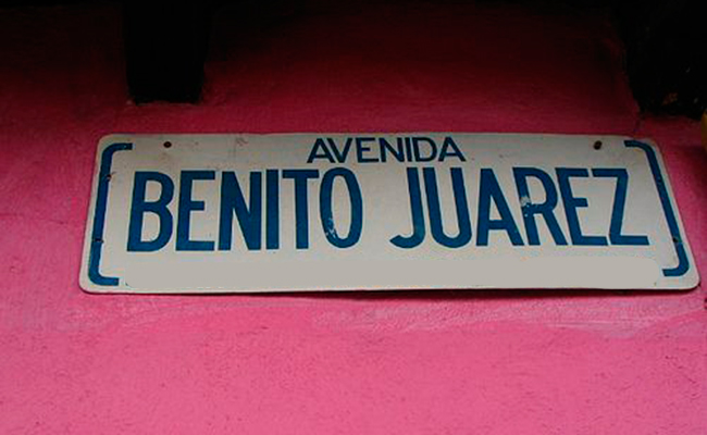 Se llaman Benito Juárez  60 mil calles mexicanas y ocho municipios