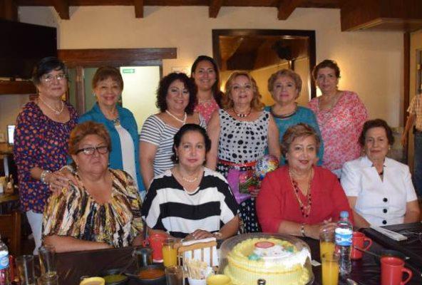 Reunión Social del Círculo de Damas de la Unidad Nacional